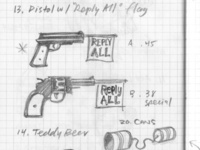 Reply All Gun Sketches for The Email Field Guide