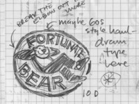 Fortunate Bear Sketches (Out-Take)