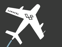 Laravel T-Shirt Illustration