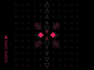 Cosmic Game #01 digital art