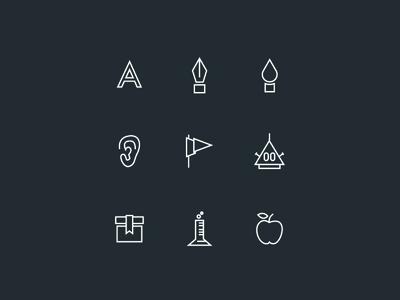 Custom icons for my 2014 CV line custom icons