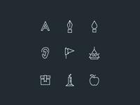 Custom icons for my 2014 CV