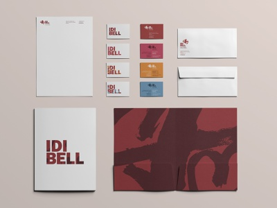 IDIBELL Brand stationery restyling branding