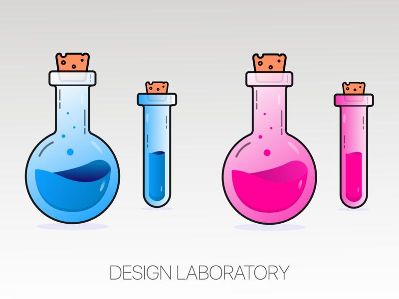 Design Laboratory designs graphics icon vector illustrator ux ui logo design illustration