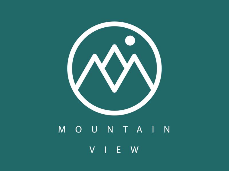 Mountain View design graphics illustration designs branding ux ui logo icon vector illustrator