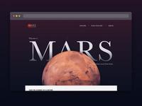 Daily UI 003: Landing Page