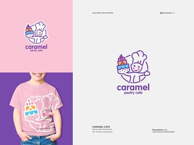 CARAMEL CAFE | Logo Design logodizayner dizayner dizayn çizmek grafik grafikdesign grafiktasarım grafik-tasarım logotasarımı logodesinger graphicdesign logotype illustration logodesign typography graphic design design branding brand logo