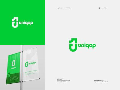 UNIQOP | Logo Design dizayner dizayn logotasarımı logodesinger çizmek grafik grafikdesign grafiktasarım tasarım graphicdesign illustration graphic design branding typography grafik-tasarım logodesign design logo brand