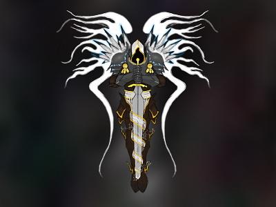 Diablo - Tyrael digital art art diablo