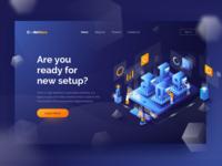 2019 New Setup - Landing Page