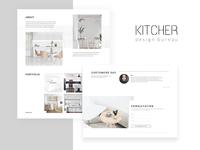 KITCHER Landing Page