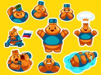 Mascots Sticker Pack