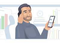 illustration for sales team