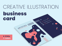 Creative Illustration Business Card Templates