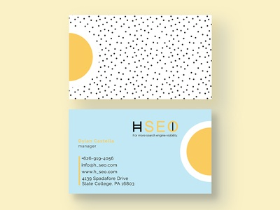 Kindergarten Business Card