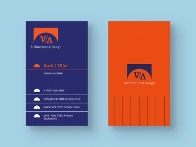 Architecture & Design Business Card