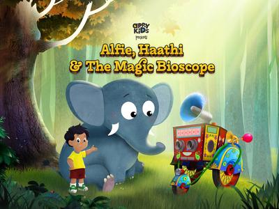Alfie, Haathi and The Magic Bioscope