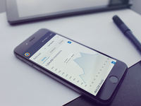 Mobile dashboard for web-service