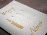 Advent Card, Version 1