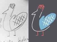 Pot glove poultry