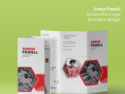 Simon Fewell - Brochure Design