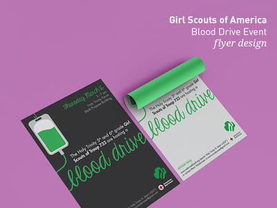 Girl Scout of America - Flyer Design