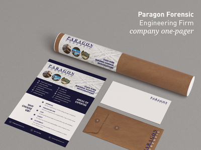 Paragon Engineering - One-Pager Design