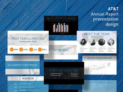 AT&T - Presentation Design