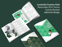 Louisville Country Club - Editorial Design