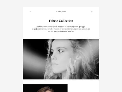 l'atmosphère jewelry design flat desktop web ux ui uiux