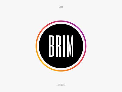 Brim Club Logo logotype identity graphic design branding logo