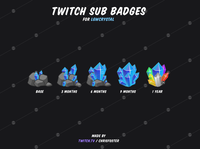 Sub Badges for LGWCrystal