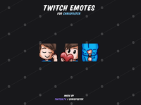 Emotes for ChrisFoster