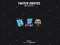 Emotes for LGWCrystal