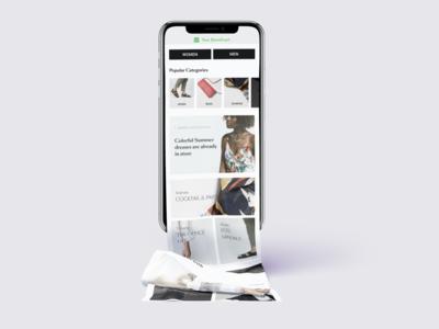 Vue Storefront Mobile