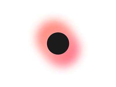 Eclipse logo vector illustration gradient logo blending