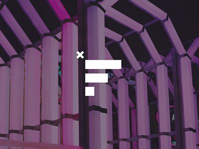 Fx logo branding logo vector illustration logotype lettering logo fx