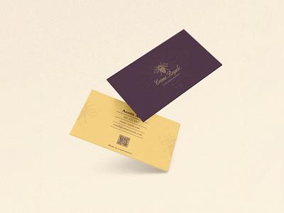 Crème Royale design logo vector illustration businesscard