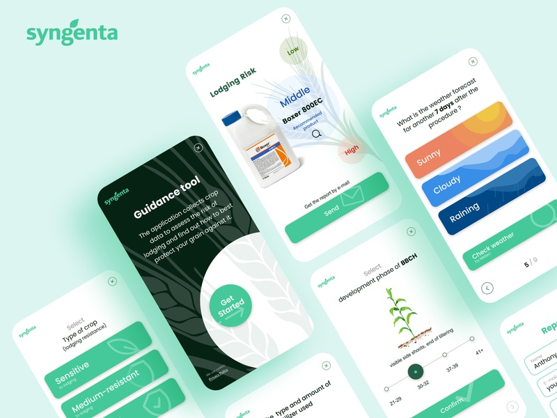 Sygenta app design app