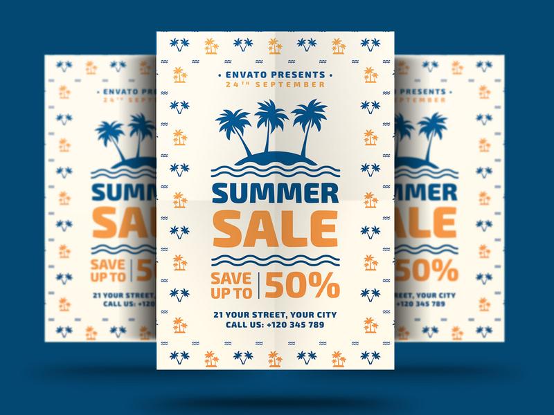 Summer Sale Flyers shop sale flyer sale psd promotion promo poster modern market holiday flyer fashion event electronics discount big sale flyer big sale beach advert ads