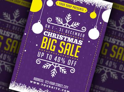 Christmas Big Sale Flyer