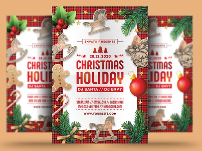 Christmas Holiday Flyer