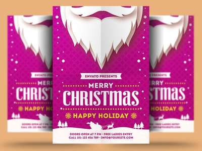 Merry Christmas Holiday Flyer