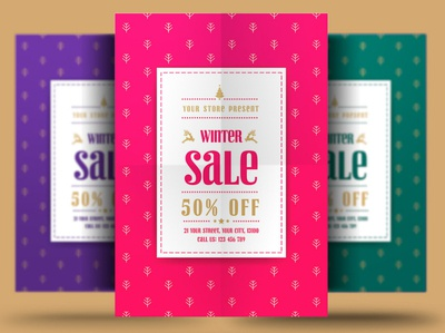 Winter Sale christmas black friday discount store flyer store offers template psd winter poster winter flyer sale flyer winter sale flyer winter sale poster flyer sale winter special offers snow winter holiday