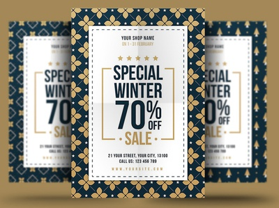 Winter Sale Flyer christmas black friday discount store flyer store offers template psd winter poster winter flyer sale flyer winter sale flyer winter sale poster flyer sale winter special offers snow winter holiday