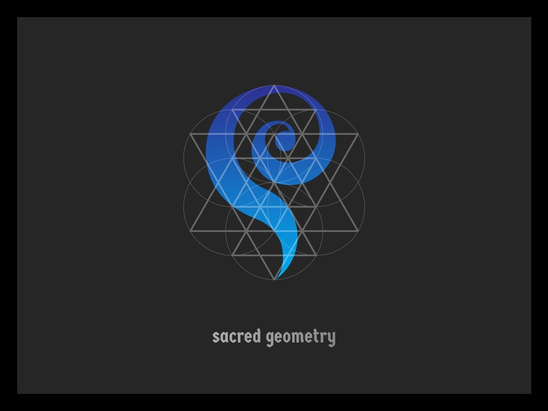 Sacred Geometry minimal sacred geometry logo illustration icon elements design branding alchemy