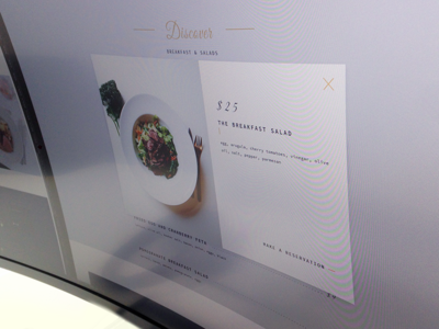Popup - Design screenshot