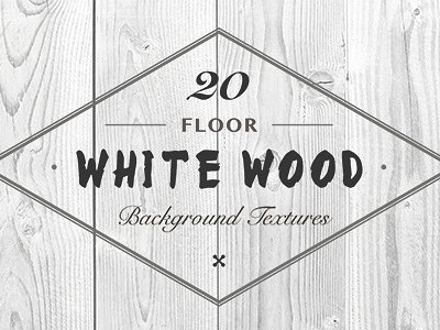 20 White Wood Floor Background Textures
