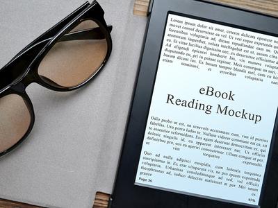 3 eBook Reading Mockups