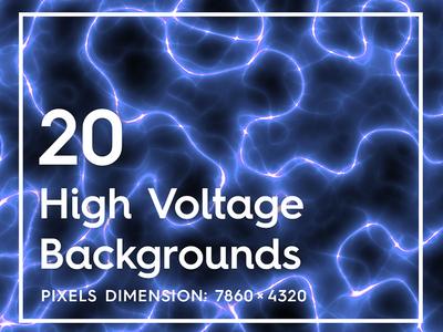 High Voltage Seamless Background Textures Preview Header Behance